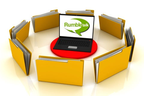 chat transcript with rumbletalk