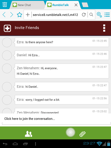 chat box css for mobile chat